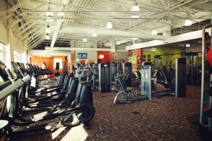 Anytime Fitness Club Interior